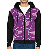 U8vd Hoodies Elegant Ballet Men Lightweight 3D Pattern Printed Hooded Jackets