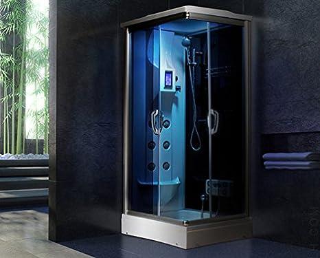 Cabina Idromassaggio Idrak : Cabina idromassaggio o box doccia angolare con