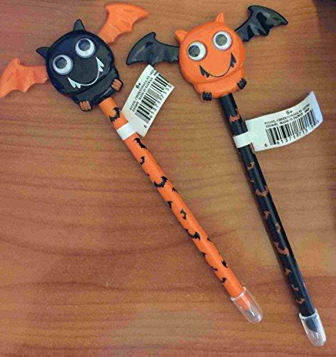 Ganz Halloween Bat Wings Pens Set of 2 -