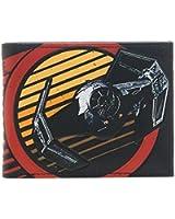 Star Wars Galactic Empire Tie Fighter Bi Fold Wallet noir