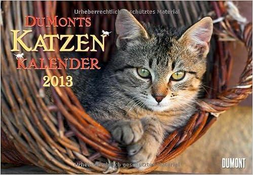 DuMonts Katzen-Kalender 2013. Broschürenkalender