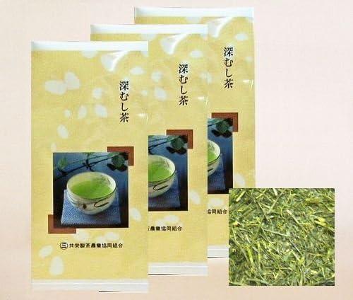 深蒸し茶 静岡茶 「煎茶」 100g袋 お得3袋セット300g
