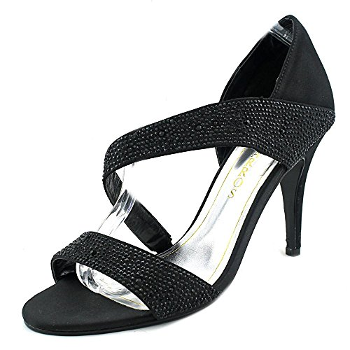 9 US Visage Caparros Women Sandals Black HZqtwSvwx