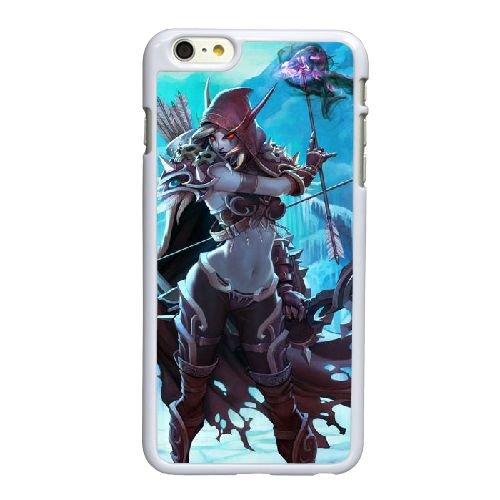 L5U48 Sylvanas P3F5FL coque iPhone 6 4.7 pouces Cas de couverture de téléphone portable coque blanche KQ6CXE2KD