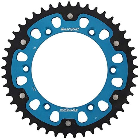 SuperSprox RST-245-45-BLU Blue Stealth Sprocket