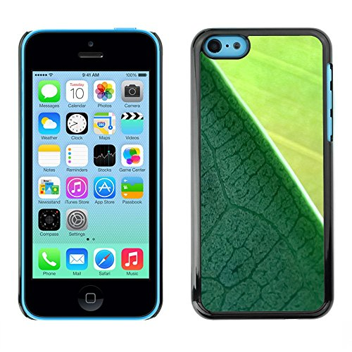 Soft Silicone Rubber Case Hard Cover Protective Accessory Compatible with Apple iPhone 5C - Plant Nature Forrest Flower 9