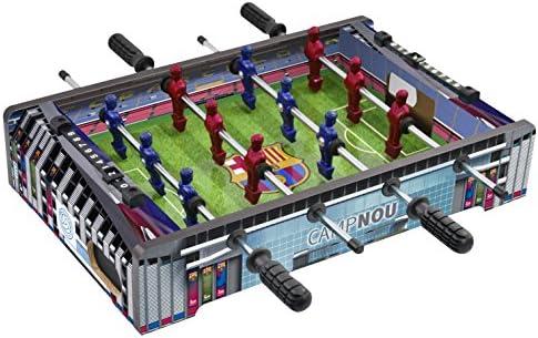 FCB FC Barcelona - Mini Futbolín Estadio Camp NOU, Multicolor ...