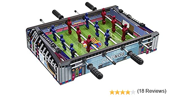 FCB FC Barcelona - Mini Futbolín Estadio Camp NOU, Multicolor ...
