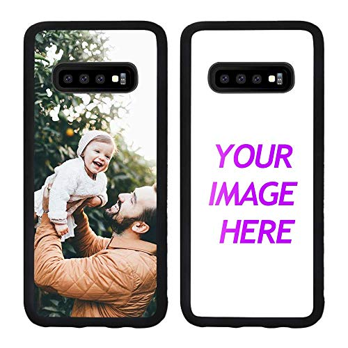 Customized Case for Samsung Galaxy S10 Plus Personalized Custom Picture Phone Case Customizable Slim Soft and Hard Tire Shockproof Protective Phone Cover Case Make Your Own Phone Case