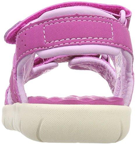 Timberland Perkins Row 2-Strap, Mules Unisex Niños Rosa (Pink D56)