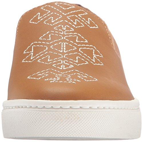 Soludos Dames Slip Fashion Sneaker Tan