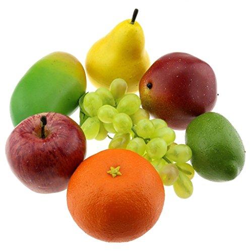 Gresorth Artificial Decoration Fruit of Fake Apple Orange...