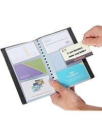 Business card holders amazon office school supplies desk business colourmoves
