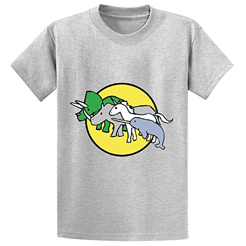 horned-warrior-friends-unicorn-narwhal-triceratops-rhino-boys-customized-tee