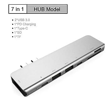 UMei Type C Hub 2 in1 2 Port Charger Hub Adapter for Smart Phone Computer Splitter USB C Hub