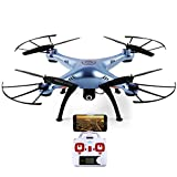 Syma X5Hw Wifi Fpv Live Video Streaming Altitude Hold Mode Hd Camera Quadcopter - Multi Color