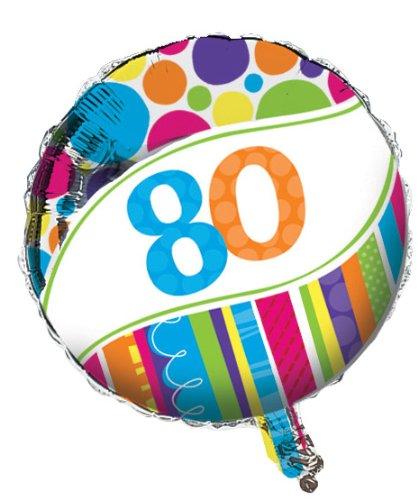 Creative Bright & Bold - Globo redondo para cumpleaños 18 ...