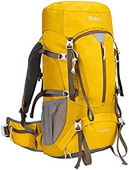 Ubon Ventilated Hiking Camping Backpack With Rain Cover