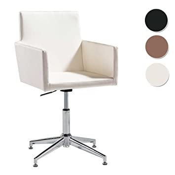 Butaca - Silla de escritorio para despacho modelo QUICK base fija color blanco - Sedutahome: Amazon.es: Hogar