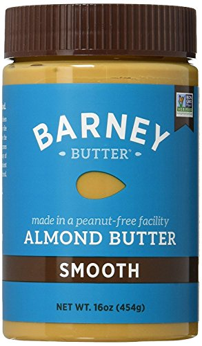 Barney & Co Almond Butter, Smooth, 16 Oz (Pack of 5) by Barney Butter