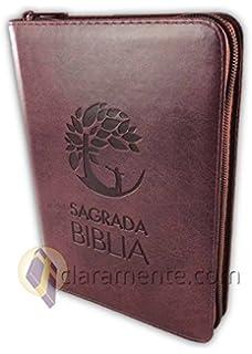 Sagrada Biblia Dios Habla Hoy DHH, Letra grande con Deuterocanónicos, tamaño manual, imitación