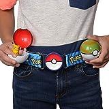 "Pokémon Clip 'N' Go Poke Ball Belt Set, Comes With Poké Ball, Nest Ball and 2"" Pikachu Figure, Multi, Model:95281"