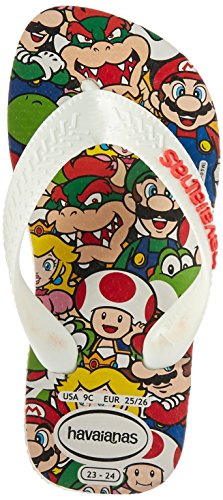 Pictures of Havaianas Kid's Mario Bros Sandal (Toddler/ 4