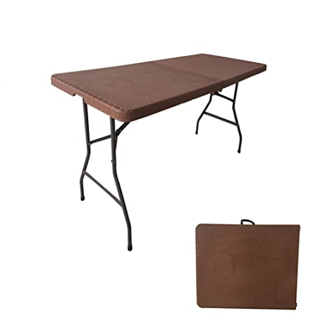 Folding table Mesa Plegable MultifuncióN - Mesa Larga PortáTil ...