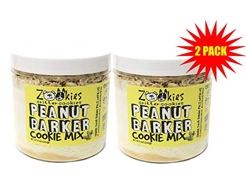 Zookies Cookies Natural Organic Dog Treat Mix DIY Bake at Home Pet Biscuits – Value 2 Pack Makes Up to 6 Dozen Crunchy Snacks- As Seen on Shark Tank- 2pk 5oz Each – Assorted Flavors