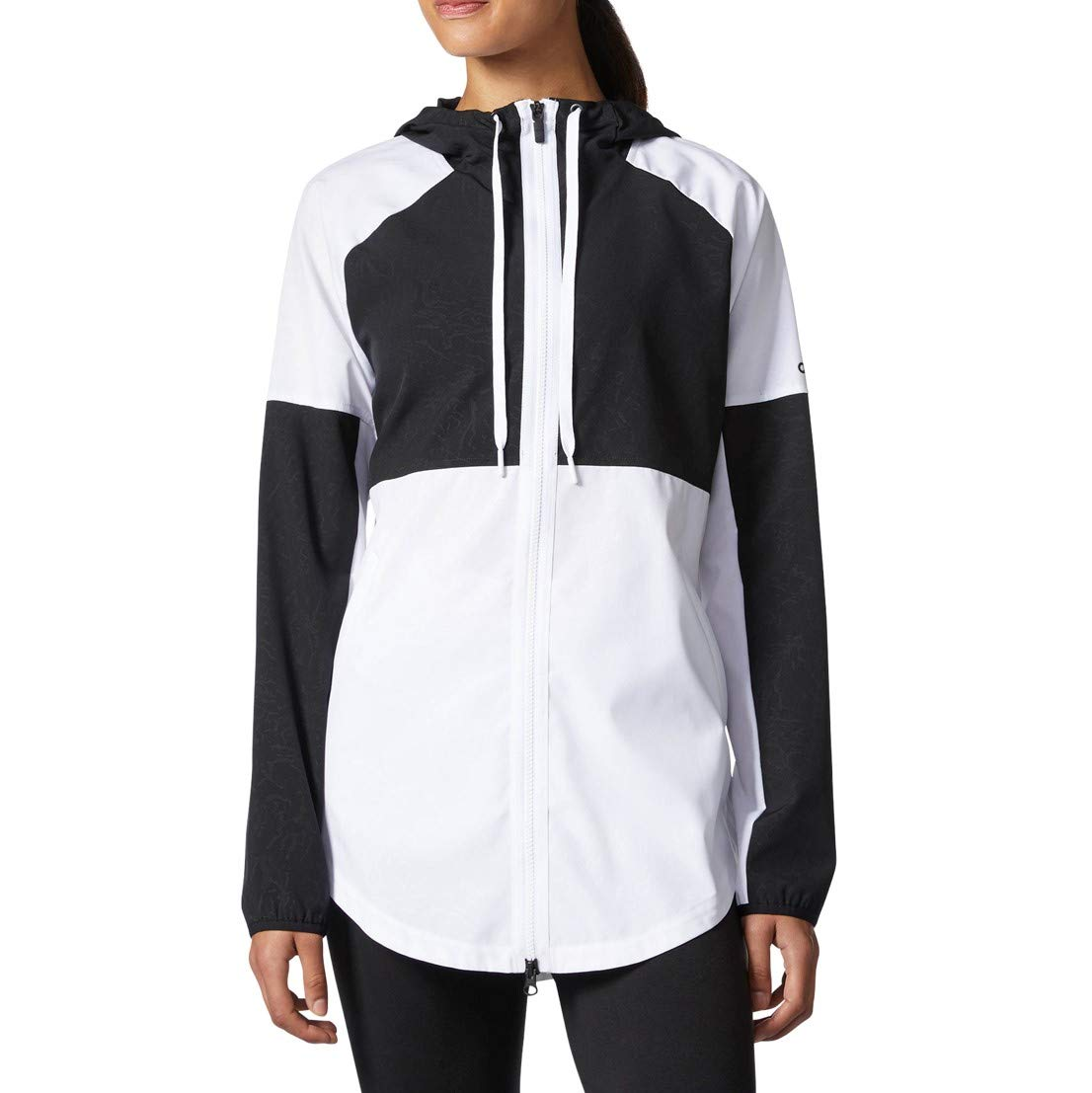 adidas Womens Athletics Sport 2 Street Windbreaker, White, Large
