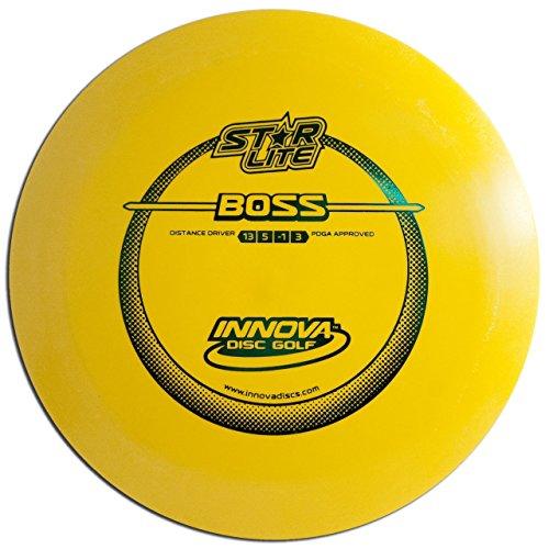 Innova Disc Golf Star Line Lite Boss Golf Disc, 130-139gm,  (Colors may vary)