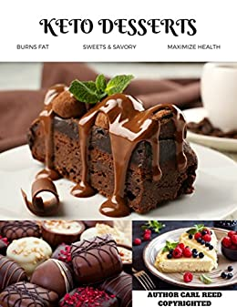 Keto-Friendly Dessert Recipes  On Amazon