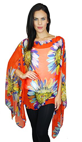 Womens Juniors Fashion Poncho Abstract product image