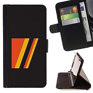 Momo Phone Case / Flip Funda de Cuero Case Cover - Deportes Vintage Retro Gris Amarillo - Sony Xperia Style T3