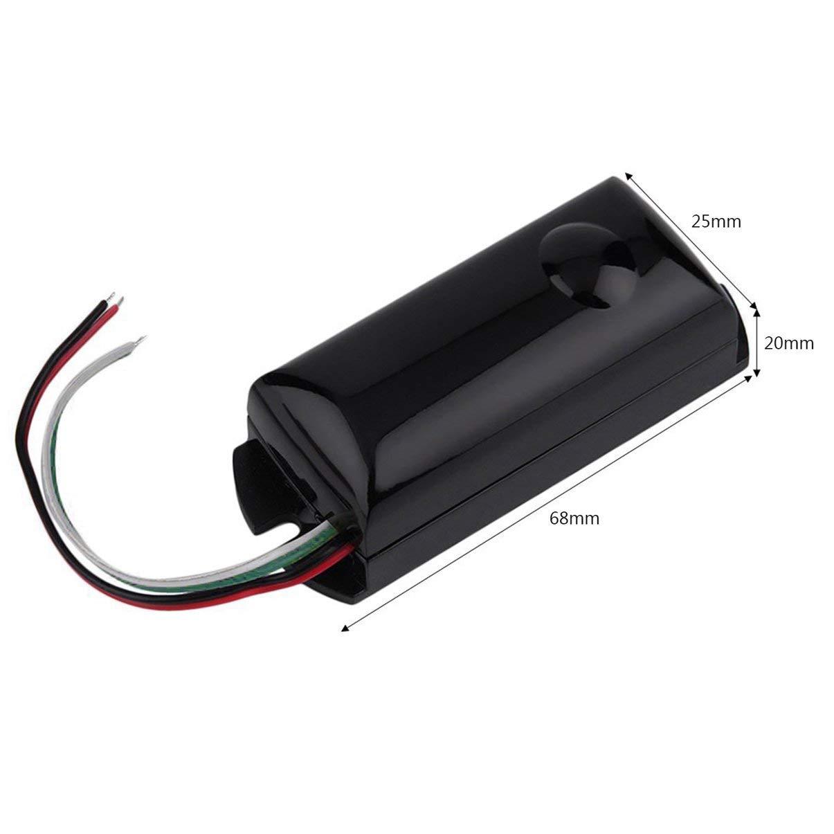1 Unids Cableado Solo Haz Infrarrojo IR Barrera Detector Sensor de Movimiento Al Aire Libre para la Seguridad Casera Accesorios para Herramientas: ...