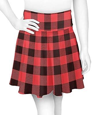 Lumberjack Plaid Skater Skirt (Personalized)