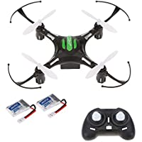 Goolsky JJR/C H8 Mini 2.4G 4CH 6-axis Gyro RC Quadcopter 3D Flip CF Mode One Key Return Drone with One Extra Battery RTF