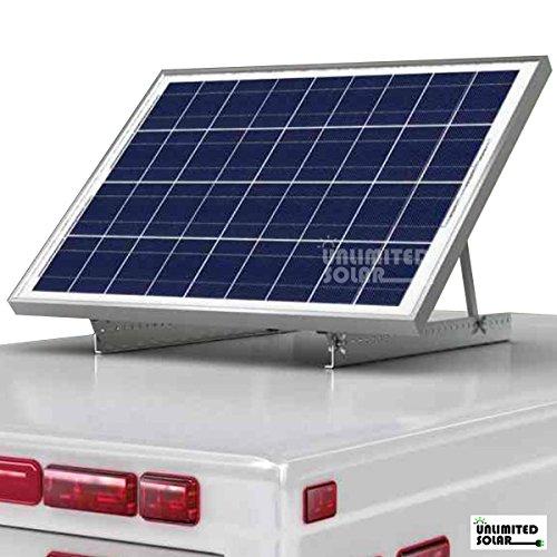 Solar Panel Universal Rv Rooftop Adjustable Tilt Mount Kit