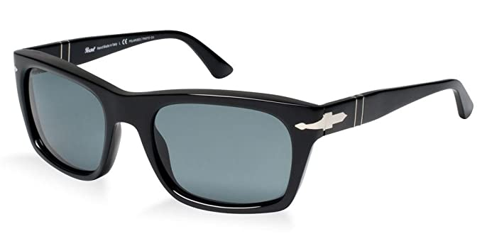Gafas de Sol Persol PO3065S BLACK - CRYSTAL BLUE PHOTO POLAR: Amazon.es: Ropa y accesorios