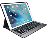 Logitech CREATE Keyboard/Cover Case for iPad Pro - Classic Blue, Silver