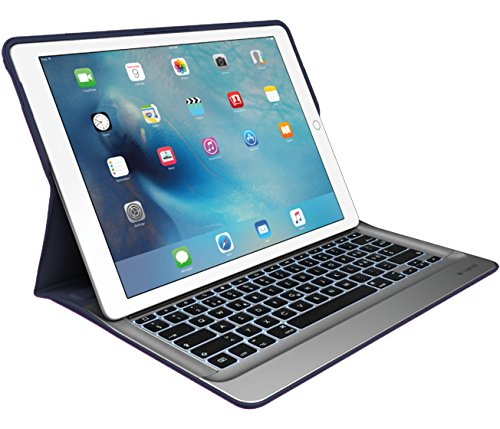 Logitech CREATE Keyboard/Cover Case for iPad Pro - Classic Blue, Silver by Logitech