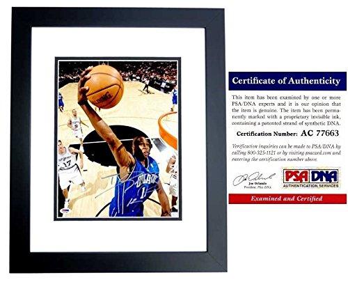 Dwight Howard Autographed Signed Orlando Magic 11x14 Photo - Black Custom Frame - PSA/DNA Authentic ()