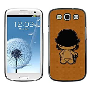 GagaDesign Phone Accessories: Hard Case Cover for Samsung Galaxy S4 - Clockwork Orange by mcsharks