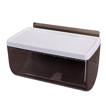 Soportes de Toallas de Papel Estante para Papel Higiénico Bandeja para Inodoro Baño Inodoro Inodoro Montado