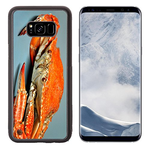 Liili Premium Samsung Galaxy S8 Plus Aluminum Backplate Bumper Snap Case IMAGE ID: 14804521 fresh steamed crabs at Chumphon province Thailand