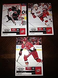 2011-12 Panini Contenders Carolina Hurricanes Team Set Jeff Skinner 3 Cards