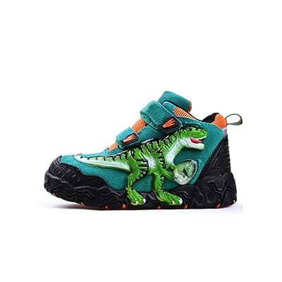 3D Oviraptor Led Dinosaur's Boy Fashion Footwear Running Sneakers Shoes (Children/Little Kid)