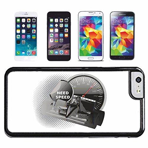 """cas de téléphone iPhone 7+ Plus """"FORMULA 1 RACE CAR FLAG HOT ROD CAR US Mucle CAR V8 ROUTE 66 USA AMÉRIQUE"""" Hard Case Cover Téléphone Covers Smart Cover pour Apple iPhone"""