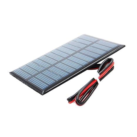 perfeclan Mini Panel Solar De Silicio Policristalino Diy Cargador de Batería - d 5v 60x90mm