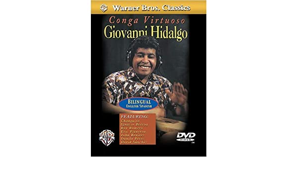 Giovanni Hidalgo: Conga Virtuoso (DVD). para Tambores Del Mundo, Congas: Amazon.es: Instrumentos musicales